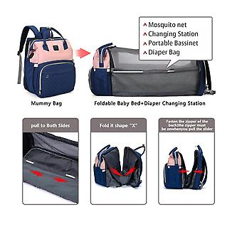 Diaper Bag Backpack, Large Multifunction Waterproof  Baby Nappy Changing Bag