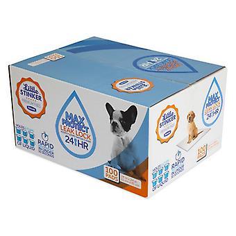 "Precision Pet Little Stinker Housetraining Dog Pee Pads - 24"" x 24"" (100 Pack)"