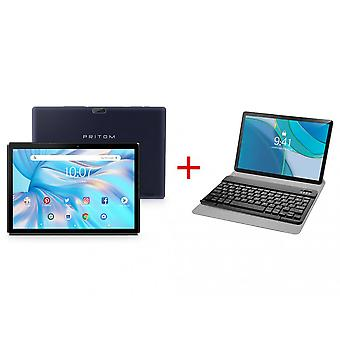 Pritom M10 10-inch Tablet And Keyboard Combination (black Keyboard)