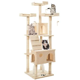 175cm Cat Tree Tower Activity Centre With Scratching Posts