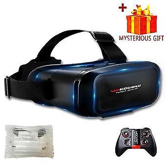 Zestaw słuchawkowy 3D vr wirtualna rzeczywistość inteligentne okulary kask do smartfonów telefon komórkowy z