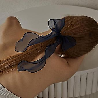 Summer silk light and thin multi-color bow fairy hair band