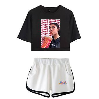 Charla Damelio Tik Tok T-shirt Conjunto 5