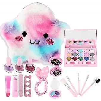 Meisjes wasbare echte doen alsof make-up kit voor starter