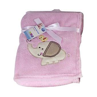 First Steps Supersoft Fleece Baby Blanket 75x100cm FS412
