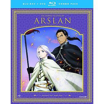 La légende héroïque d'Arslan: importation de saison USA Part One [Blu-ray]