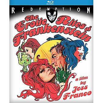 Erotic Rites of Frankenstein [BLU-RAY] USA import