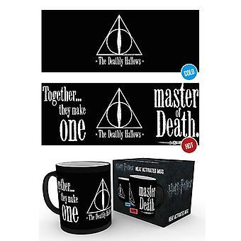Harry Potter Deathly Hallows Heat Changing Mug