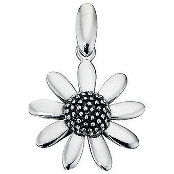 925 zilveren mooie bloem ketting