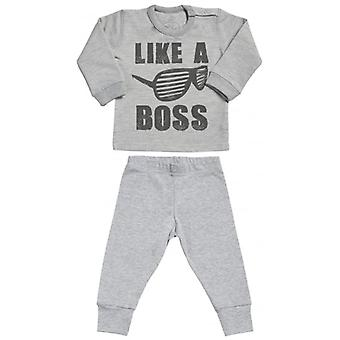 Spoilt Rotten Upcoming Legend Sweatshirt & Jersey Trousers Baby Outfit Set