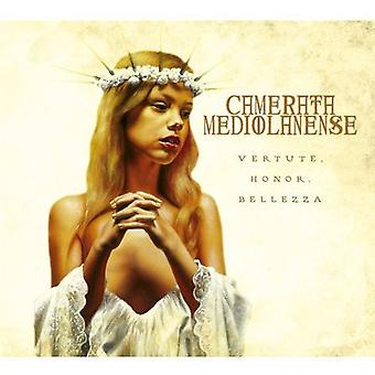 Camerata Mediolanense - Vertute Honor Bellezza [CD] USA import