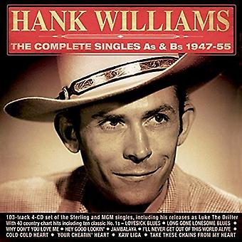 Hank Williams - Williams Hank-Complete Singles als & B [CD] USA import