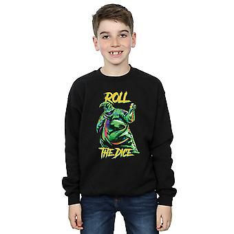 Disney jongens Nightmare Before Christmas Oogie Boogie dobbelstenen Sweatshirt