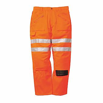 sUw - Rail Hi-Vis Workwear Rail Track Side Pantalon