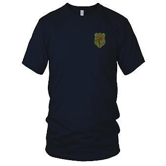 ARVN Nationalpolizei Einheit CSDC - Vietnamkrieg militärische Abzeichen gestickt Patch - Herren-T-Shirt