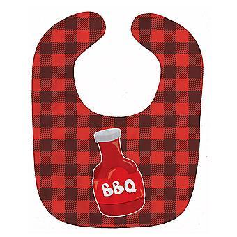 Carolines Treasures  BB8633BIB Backyard BBQ Sauce Baby Bib