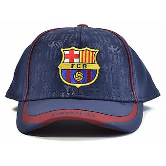 FC Barcelona Official Adults Unisex Debossed Baseball Cap