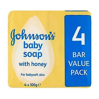 Johnsons Baby Seife mit Honig
