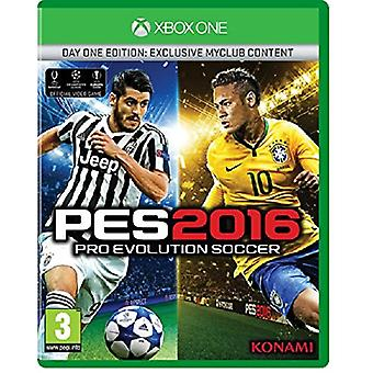 Pro Evolution Soccer 2016 Day One Edition Xbox One Game - New