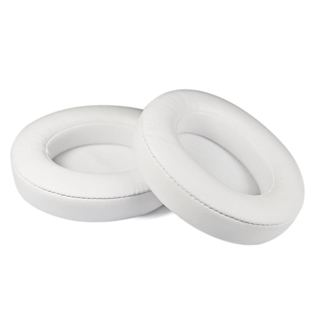 REYTID Replacement White Ear Pads Compatible with Apple Beats By Dr. Dre Studio 3 Wireless Cushion Kit - 3.0 1 Pair Earpads