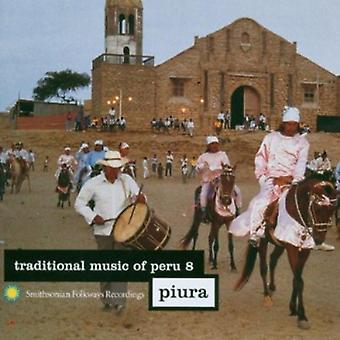 Música tradicional do Peru - música tradicional do Peru: importação de EUA [CD] vol. 8-Piura