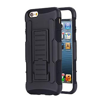 Stuff Certified® iPhone 6 Future Armor kova kotelo kansi CAS-kotelo musta