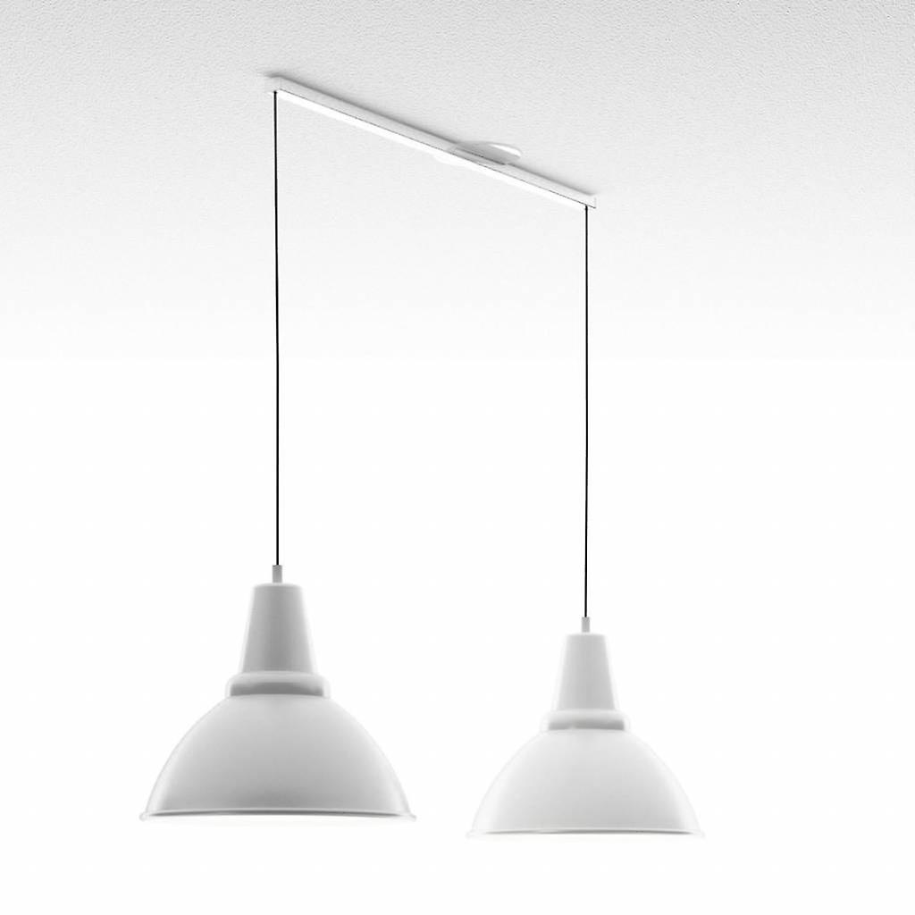 Système de suspension Lightswing pour les lampes suspendues-Twin-White