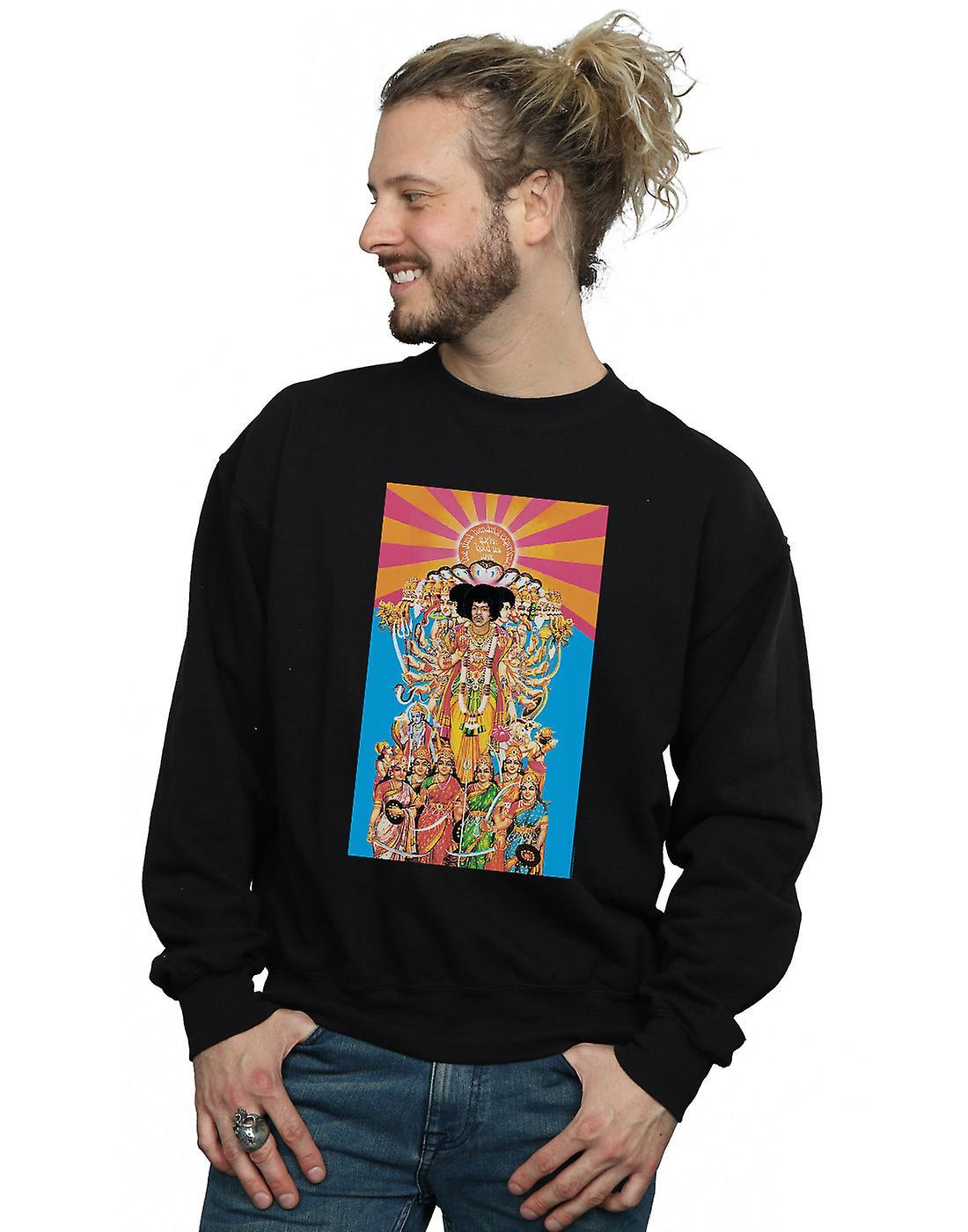 Jimi Hendrix Men's Axis Bold As Love Sweatshirt