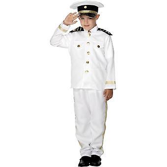 キャプテン コスチューム、子供、男の子ミディアム年齢 6-8