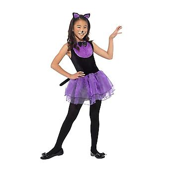 Katze Kostüm, Halloween Kostüm Kind, kleine 4-6 Jahre