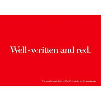 Välskriven och röd - den fortsatta historien om ekonom affisch Ca