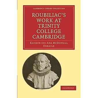 Travail de Roubiliac au Trinity College de Cambridge