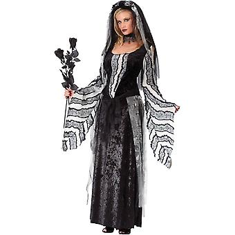 Black Rose Ghost Adult Costume