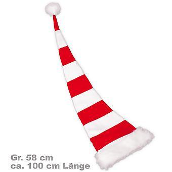 Santa Hat cítil 100 cm červeno-biela Santa