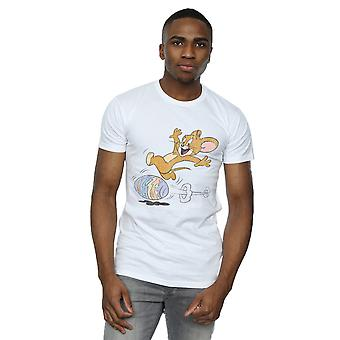Tom And Jerry Men's Egg Run T-Shirt
