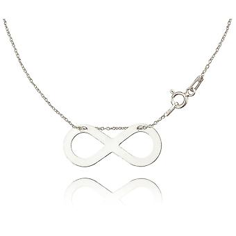 Ah! Jewellery Sterling Silver Infinity Necklace