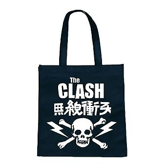 La borsa Eco shopper Clash Skull