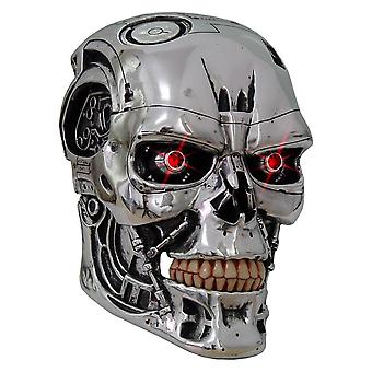 T-800 Terminator Head Replica 23cm