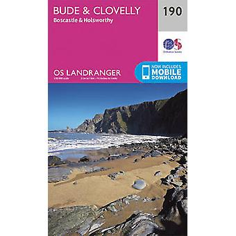 Bude & Clovelly - Boscastle & Holsworthy by Ordnance Survey - 9780319