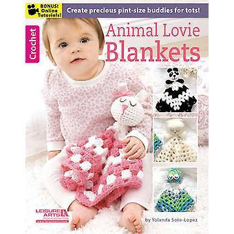 Animal Lovie Blankets - 9781464716485 Book