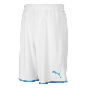 2019-2020 Olympique Marseille Puma hem shorts (vit)