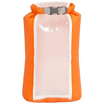 EXPED Orange Fold Drybag Clear Sight 3L