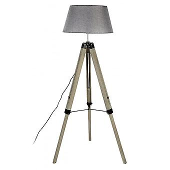 Fusion Living Grey hedendaagse statief vloer lamp