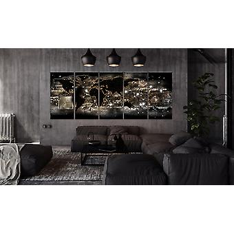 Maleri - Jorden Glow200x80