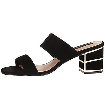 STEVEN by Steve Madden Womens Siggy Suede Open Toe Casual Mule Sandals