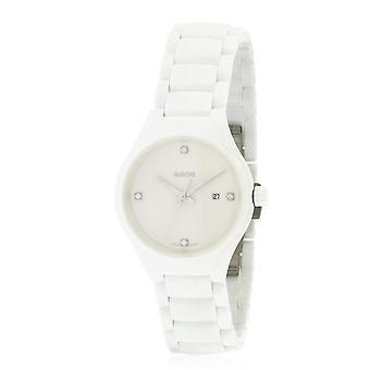 Rado True witte keramische dames horloge R27061712