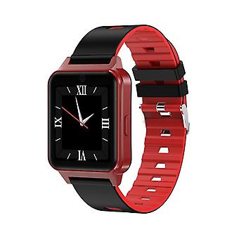 Smartwatch with SIM card support-Red