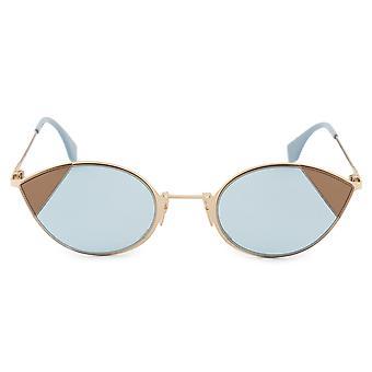 Fendi Cut-Eye FF 0342/S QWU/1P 51 Cat Eye Sonnenbrille
