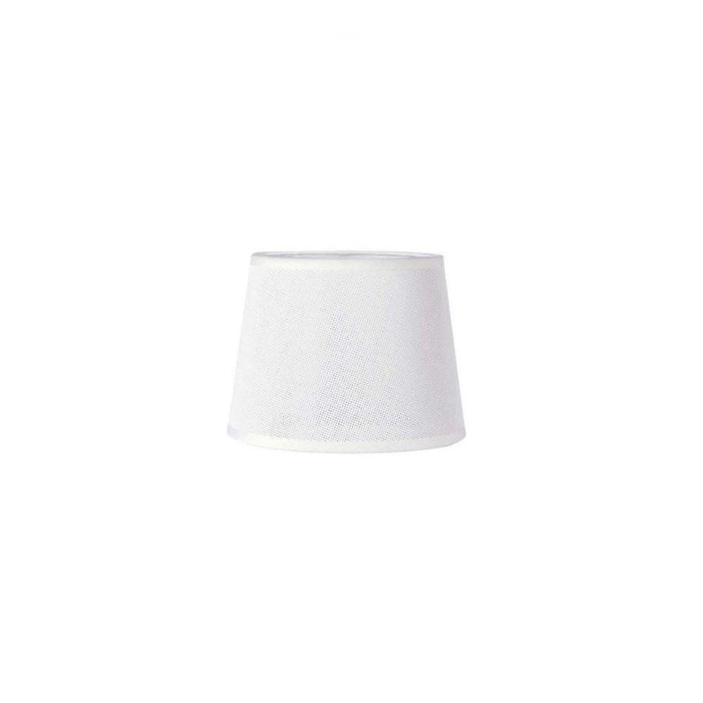 Mantra Habana White Round Shade 300/350mm X 250mm, Suitable For Floor Lamps