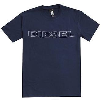 Diesel Umlt Jake T-Shirt-Navy